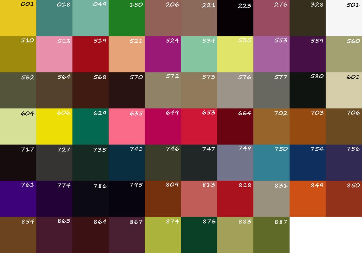 Палітра кольорів 1
