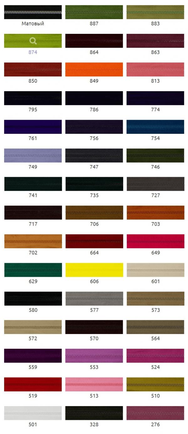 Мапа кольорів