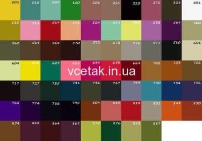 Палітра кольорів