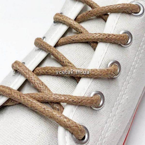 вощеные шнурки для обуви