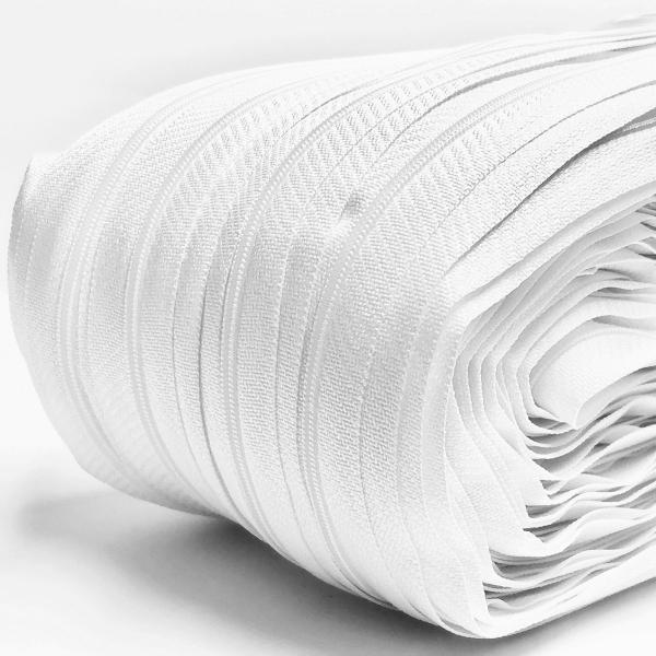 Біла рулонна застібка